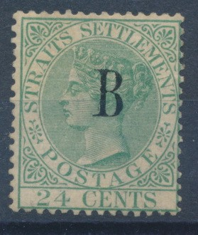 Bangkok (British PO in Siam) 1882 SG 9. *