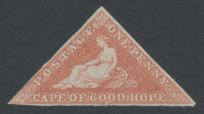 Cape of Good Hope 1853 SG 3a. (*).