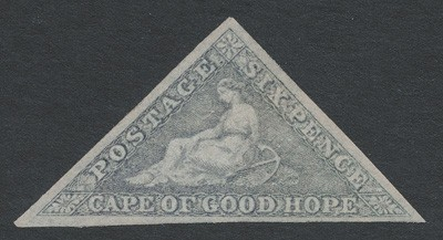 Cape of Good Hope 1855 SG 7c. *